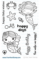 Your Next Stamp - Clear Stamp - Happy Days Mermaid