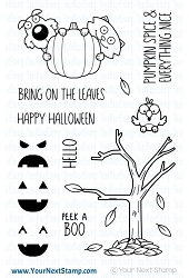 Your Next Stamp - Clear Stamp - Peek a Boo