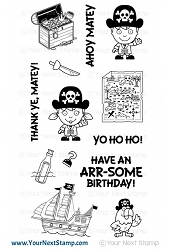 Your Next Stamp - Clear Stamp - Yo Ho Ho