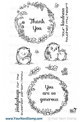Your Next Stamp - Clear Stamp - Hedgehugs