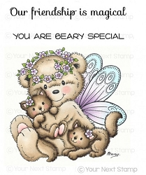 Your Next Stamp - Clear Stamp - Fairy Bear