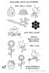 Your Next Stamp - Clear Stamp - Honey Bee