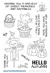 Your Next Stamp - Clear Stamp - Autumn Harvest
