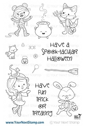 Your Next Stamp - Clear Stamp - Trick or Treat