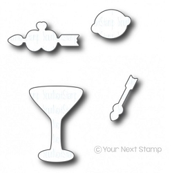 Your Next Stamp - Dies - Tini Sips