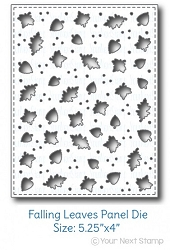 Your Next Stamp - Dies - Falling Leaves Panel