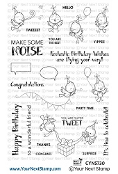 Your Next Stamp - Clear Stamp - Make Some Noise