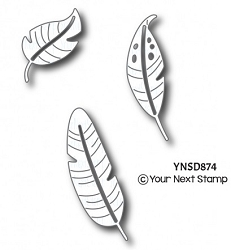 Your Next Stamp - Dies - Feather Fun