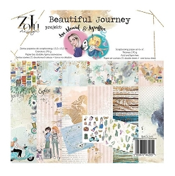 Zoju - Beautiful Journey Collection - 6x6 paper pad