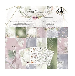 Zoju - Forest Dream Collection - 6x6 paper pad