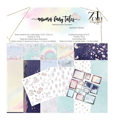 Zoju - Unicorn Fairy Tales Collection - 6x6 paper pad