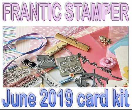 Monthly Card Kit - June 2019 - Baby Theme