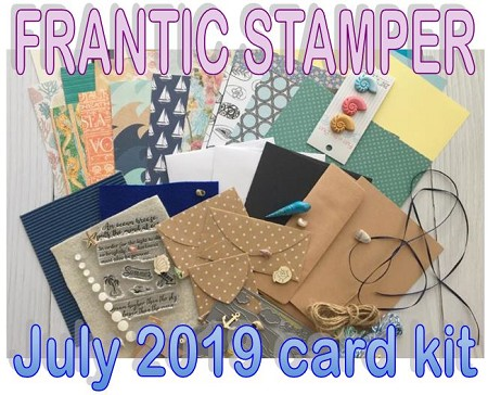 Monthly Card Kit - July 2019 - Lighthouse Serenity (ships July 1, 2019)