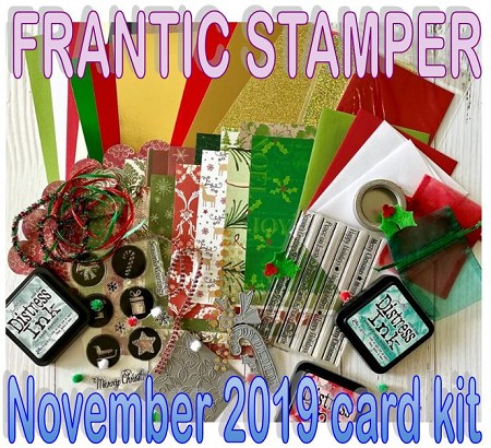 Monthly Card Kit - November 2019 - Christmas Surprise!! (ships November 1, 2019)