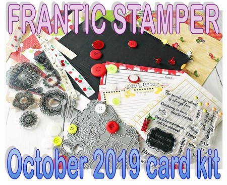 Monthly Card Kit - October 2019 - Sharing a Recipe