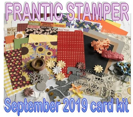 Monthly Card Kit - September 2019 - On The Farm