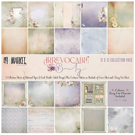 "49 and Market - Irrevocable Beauty 12""x12"" Collection Pack"