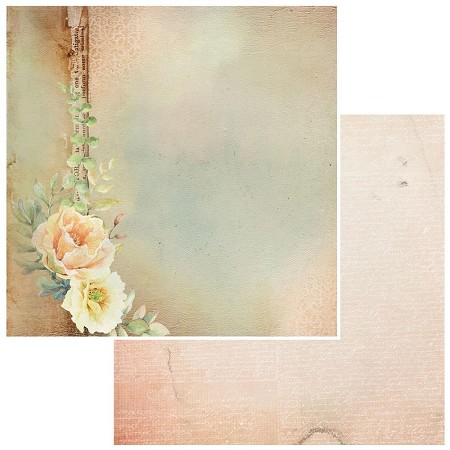 "49 and Market - Irrevocable Beauty Petrarch 12""x12"" Double-Sided Cardstock"