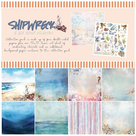 "49 and Market - Shipwreck 12""x12"" Collection Pack"
