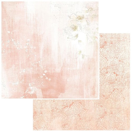 "49 and Market - Modern Romance Coral Vintage Artistry Colors 12""x12"" Double-Sided Cardstock"