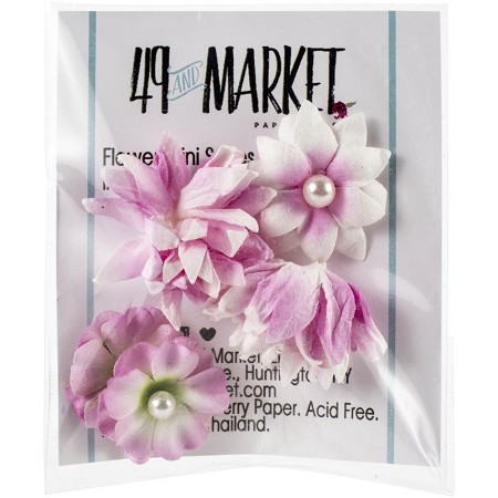49 and Market - Mini Flowers - Blush