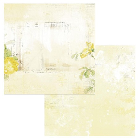 "49 and Market - Serenity Butter Vintage Artistry Colors 12""x12"" Double-Sided Cardstock"