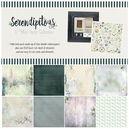 "49 and Market - Serendipitous 12""x12"" Collection Pack"
