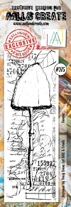 AALL & Create - Clear Stamp Border - Set #275 Fungus