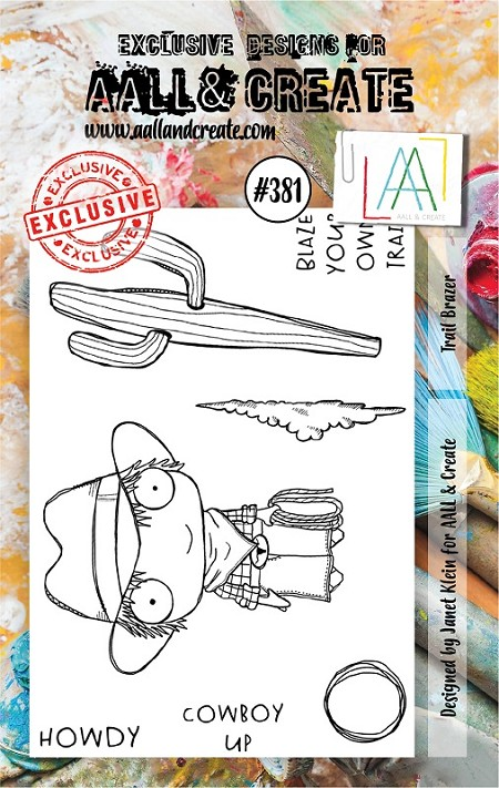 AALL & Create - Clear Stamp A7 size - Set #381 Trail Blazer