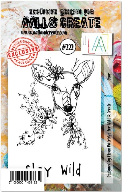 AALL & Create - Clear Stamp A7 size - Set #222 Deer