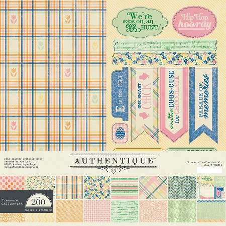 Authentique - Treasure Collection - Collection Kit :)