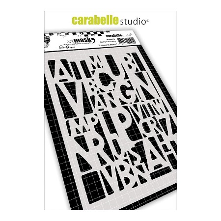 Carabelle Studio - Art Mask - Letters in Boxes