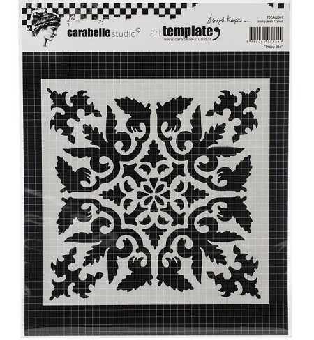 Carabelle Studio - Art Template - India Tile