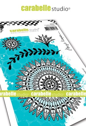Carabelle Studio - Cling Stamp - Indian Inspired #3