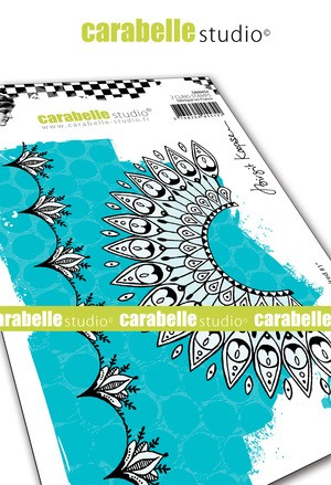 Carabelle Studio - Cling Stamp - Indian Inspired #1