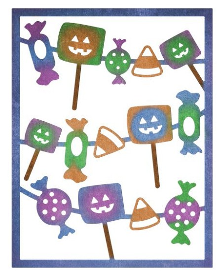 Cheery Lynn - Die - Halloween Candy Card Maker