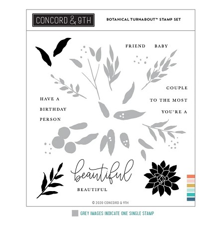 Concord & 9th - Clear Stamp - Botanical Turnabout™