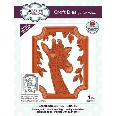 Sue Wilson Designs - Die - Safari Collection - Giraffe
