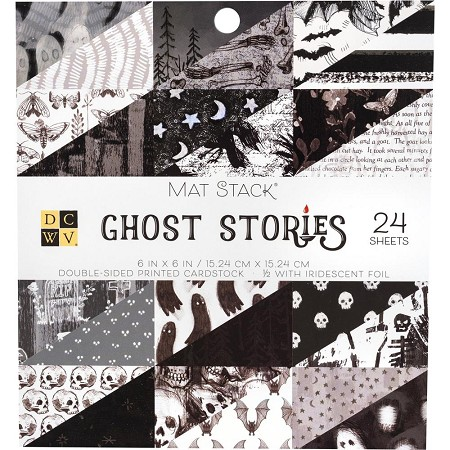 "Die Cuts With A View - 6""x6"" Paper Pad - Ghost Stories"