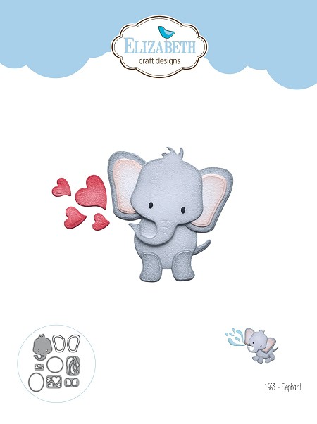 Elizabeth Craft Designs - Die - Elephant