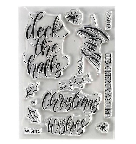 Elizabeth Craft Designs - Clear Stamp - House