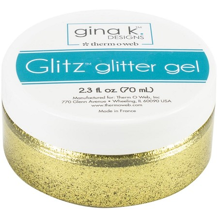 Gina K Designs - Gold Glitz Glitter Gel