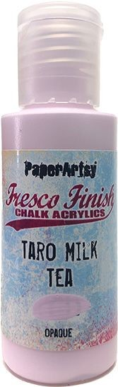 Paper Artsy - Fresco Finish Acrylic Paints - 50ml Bottle - Taro Milk Tea (opaque)