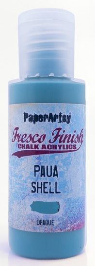 Paper Artsy - Fresco Finish Acrylic Paints - 50ml Bottle - Paua Shell (opaque)
