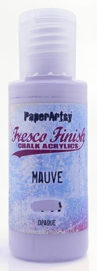 Paper Artsy - Fresco Finish Acrylic Paints - 50ml Bottle - Mauve (opaque)