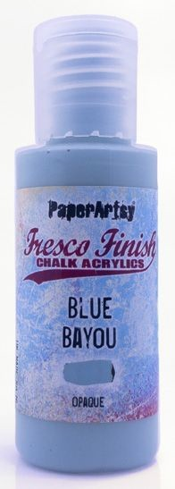 Paper Artsy - Fresco Finish Acrylic Paints - 50ml Bottle - Blue Bayou (opaque)