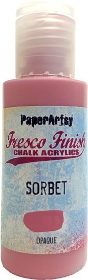 Paper Artsy - Fresco Finish Acrylic Paints - 50ml Bottle - Sorbet (opaque)
