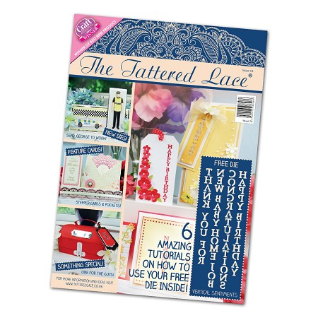 Tattered Lace - Tutorial Magazine & Die Kit - Issue 16