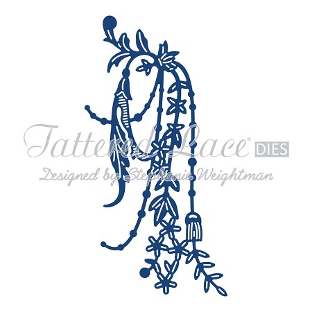 Tattered Lace - Dies - Pearl and Flower Swag