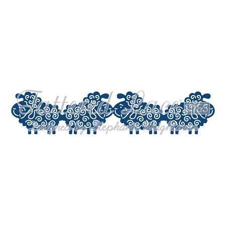 Tattered Lace - Dies - Sheep Border